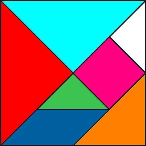 monsieur hoy fabricamos un tangram 1 2 - Tangram Cuadrado