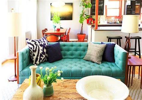 Teal And Orange Living Room by Teal Blue And Orange Living Room Interior Decoration
