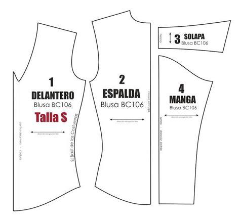 moldes corte costura gratis molde de costura gratis para blusa manga larga talla s m l