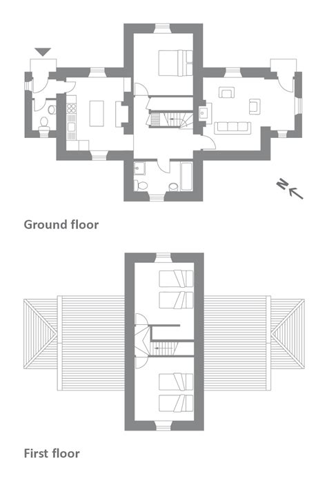 search floor plans 2018 at shore cottage saddell kintyre argyll and bute the landmark trust