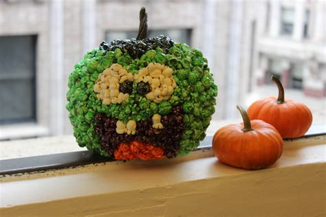 How To Decorate A Pumpkin how to decorate a pumpkin with popcorn the