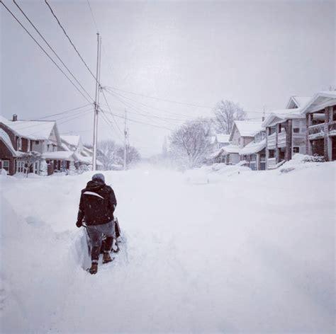 Erie County Pa Records Photos Record Breaking 60 Inch Snowfall Blankets Erie Pennsylvania