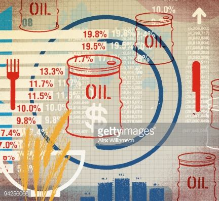 oil commodity oil commodity prices stock illustration getty images