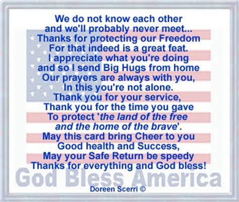 thank you letter to a soldier sle quotes thanking our quotesgram