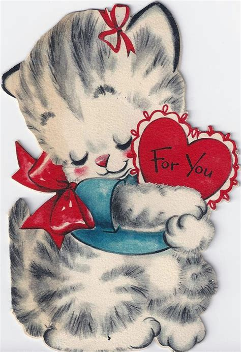 china doll valentines day 501 best vintage cards cats images on