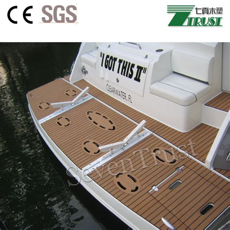 boat decking products cheap synthetic teak wood for boat yacht floor interior