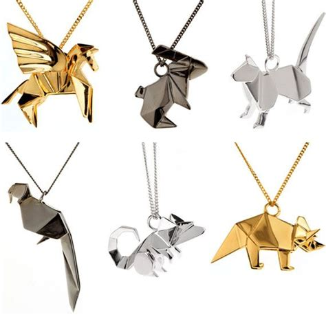 Origami Jewellery - 25 best ideas about origami jewelry on