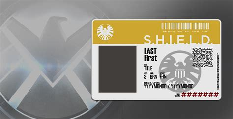 of shield id card template agents of shield blank id by gillcw1991 on deviantart