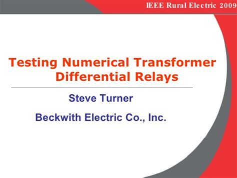 engineering justice transforming engineering education and practice ieee pcs professional engineering communication series books b 6 testing numerical transformer differential relays ieee