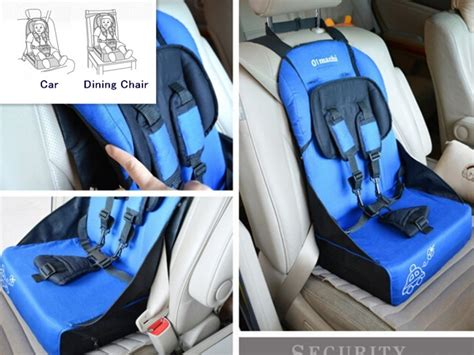 portable car seat for travel high quality five points portable baby car safety seat