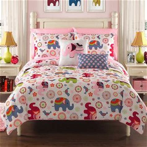 bed in a bag twin girl elephant reversible twin comforter set bed in a bag teen girls new room bedding twin