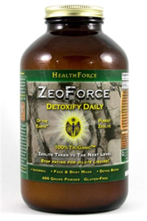 Zeoforce Detox Reviews by Add A Review For Zeoforce Detoxify Daily Zeolite 400g