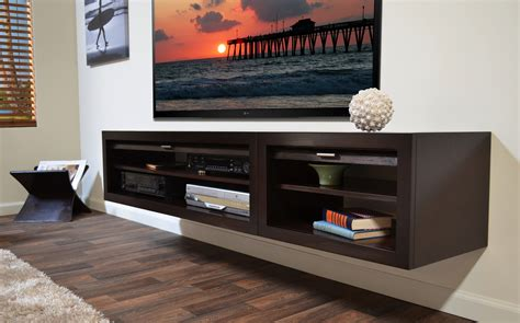 Affordable Bathroom Designs by Floating Media Console A Way To Display Your Tv With