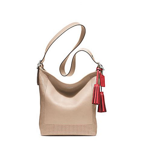 Coach City Zip Tote Signature Nyc Hotdog Khaki Saddle coach f22762 perforated leather duffle silver bisque hibiscus coach handbags coach