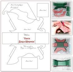 How To Make A 3d Santa Out Of Paper - 1000 images about templates on card sketches