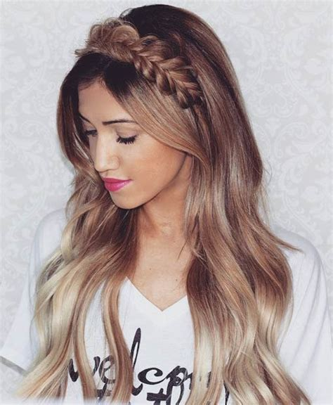 poof at the crown hairstyle 26 stunning half up half down hairstyles abbuzz