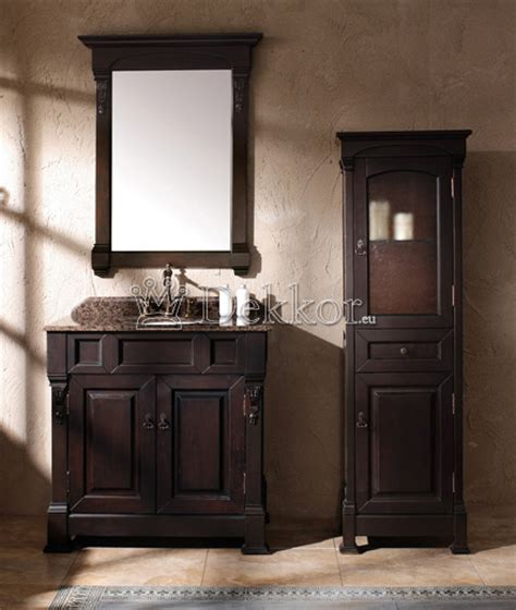 Bathroom Furniture Wooden Bathroom Vanity Bosco 1220 Mahogany Bathroom Furniture