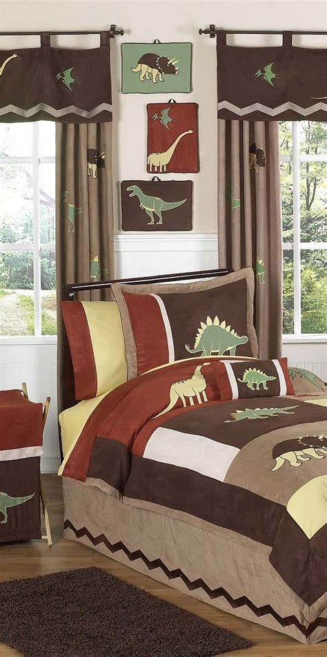 Dinosaur Themed Bedroom by Dinosaur Theme Bedroom Boys Bedrooms Boys Bedding Room Decor P