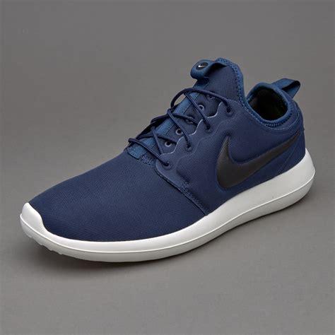 Sepatu Merk Nike Original sepatu sneakers nike sportswear roshe two midnight navy