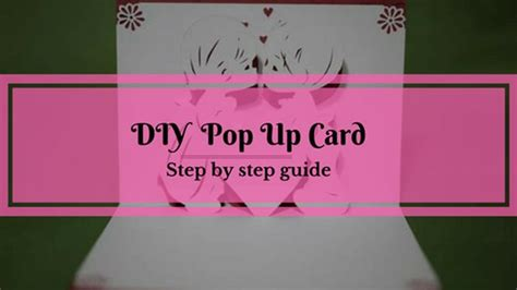 how to make a pop up card step by step how to make a pop up card for beginners step by step