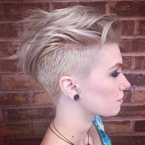 coupe de cheveux femme half hawk 30 awesome undercut hairstyles for 2019