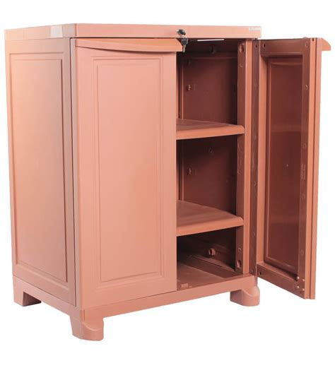 freedom wooden color storage cabinet by nilkamal by
