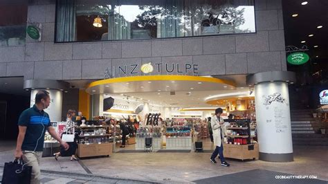 Retail Therapy In Tokyo by Photo Tour Ainz Tulpe And Their Skincare Rankings Wall