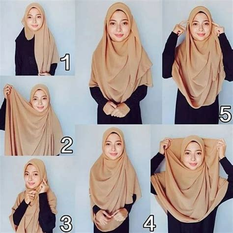 tutorial pashmina crepe 17 best images about hijab tutorial on pinterest simple