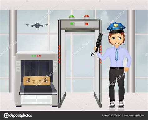 security scan airport security scanner stock photo 169 adrenalina 131274294