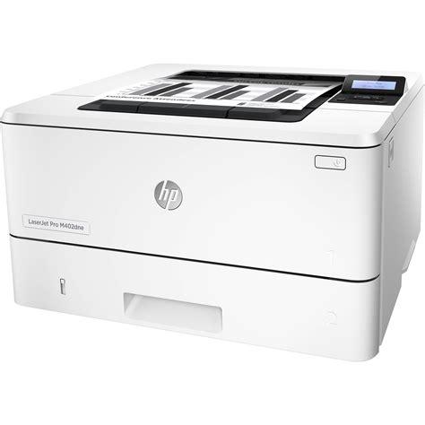 Printer Hp Laser Terbaru hp laserjet pro m402dne monochrome laser printer c5j91a