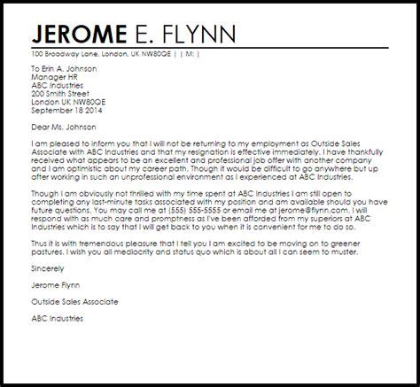 sarcastic resignation letter resignation letters