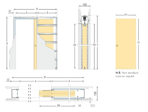 Home Design Suite Wall Thickness Eclisse Syntesis Line Sd Frameless System 125mm Wall
