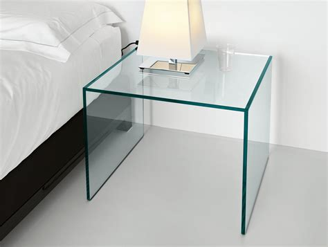 glass tops for bedroom furniture nella vetrina tonelli trio modern italian designer bedside