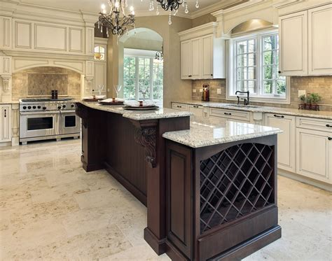 2 level kitchen island 79 custom kitchen island ideas beautiful designs