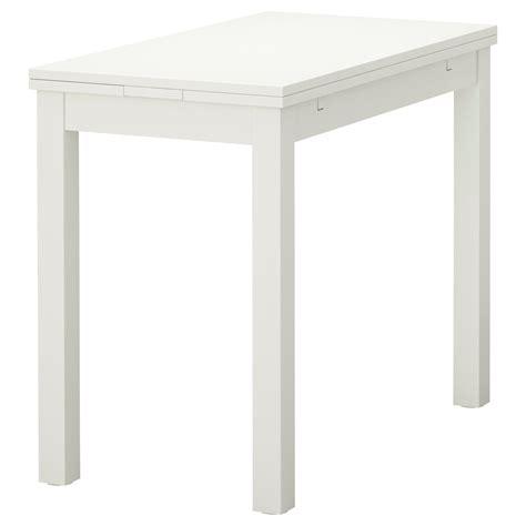 lade da tavolo bjursta mesa extensible 50 70 90x90 blanco