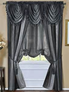 Ombre Sheer Curtains Ombre Sheer Tailored Panels Blue Achim Window Treatments