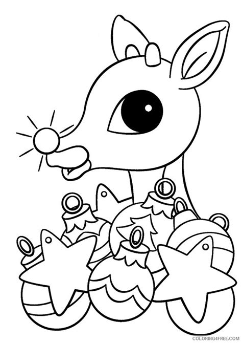 rudolph the nosed reindeer coloring pages rudolph the nosed reindeer coloring pages