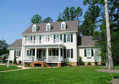 two colonial house plans colonial plans architectural designs