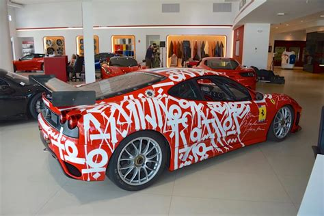 ferrari art retna ferrari f430 art car for sale