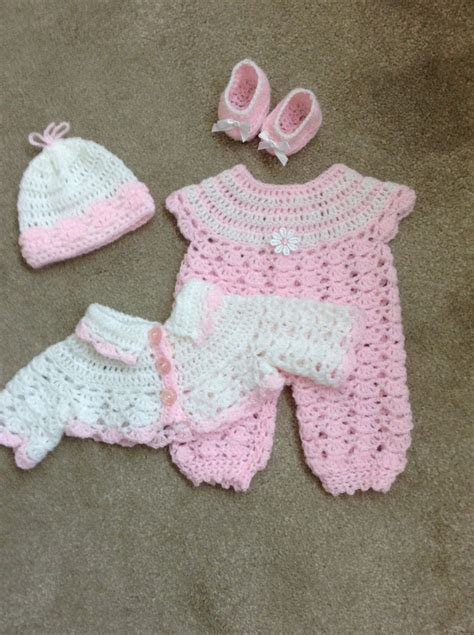 Baby Doll Closet by Crochet Dolls Clothes To Fit 14 15 Baby Doll Reborn Baby