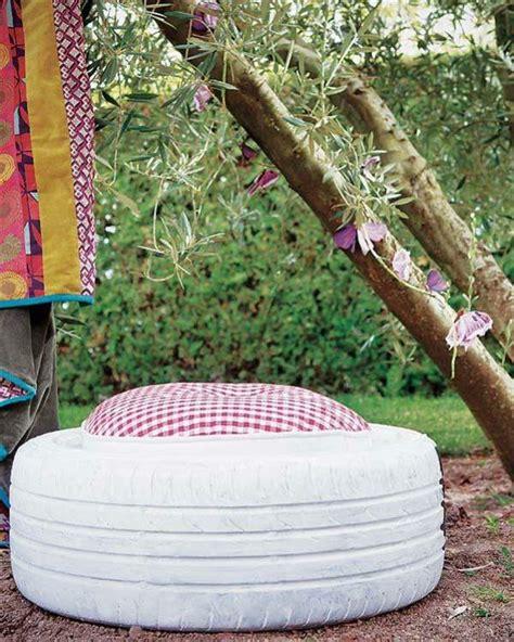 une ottomane diy simple et originale pour votre jardin en 86 id 233 es de d 233 co