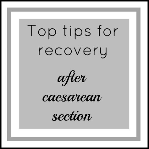arnica after c section top tips for recovery after caesarean section family fever