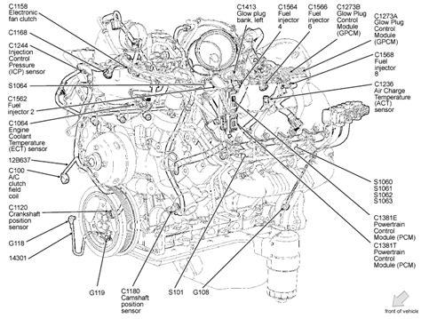 4 6 ford engine diagram 4 6 liter ford engine diagram automotive parts diagram