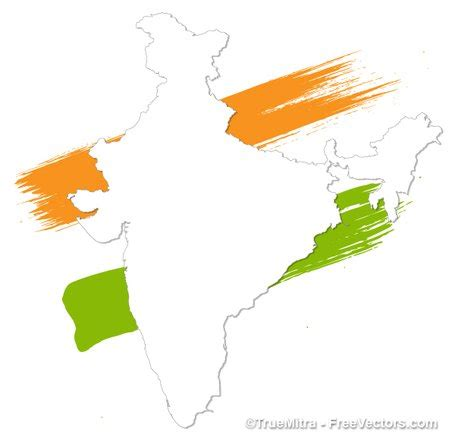 india map vector painted india map clip arts clipart me