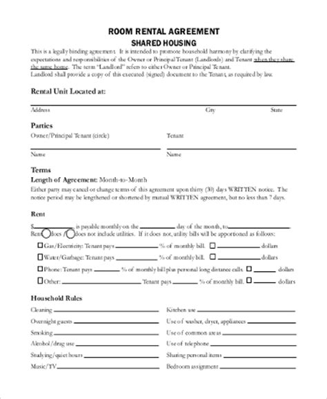 blank lease agreement california blank rental agreement edit fill sign download simple