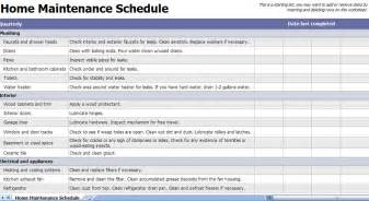 home maintenance related keywords suggestions for home maintenance checklist