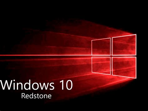 wallpaper windows 10 redstone به زودی بیلد های پیش نمایش به روز رسانی redstone برای
