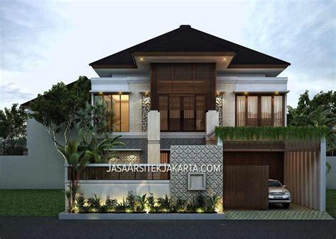 desain rumah zen desain rumah mewah luas 900m2 bu hasan dream home
