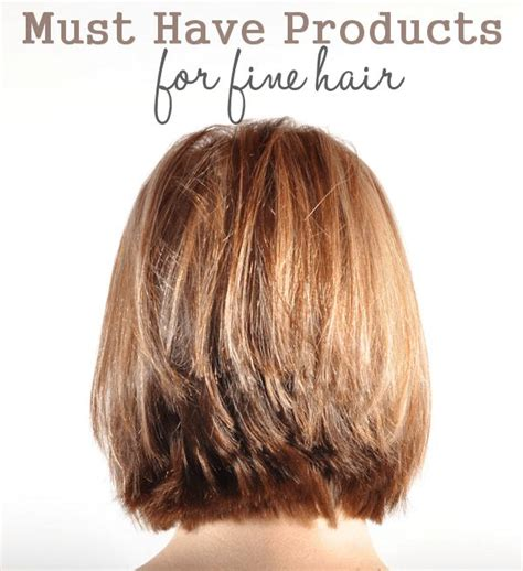 must have hair must have products for fine hair hair tips pinterest