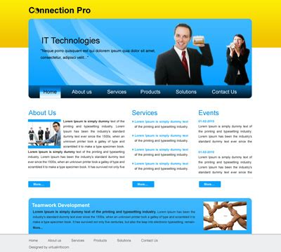 Web Design Company Kolkata Software Development India Joomla Word Press Communications Portfolio Template